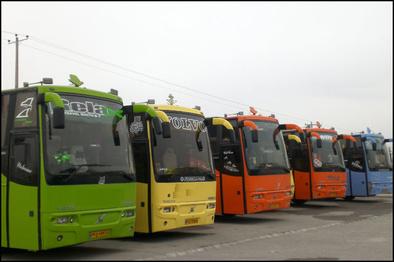 افزایش کرایه اتوبوسهای بین شهری مهریز و گلایه مردم