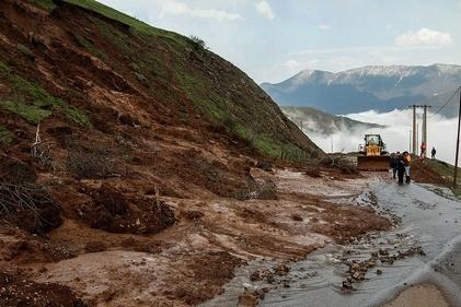 رانش زمین در مازندران