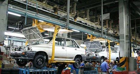 فروچاله صنعت خودرو