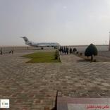فرود هواپیمای پرواز تهران به مشهد در فرودگاه سبزوار