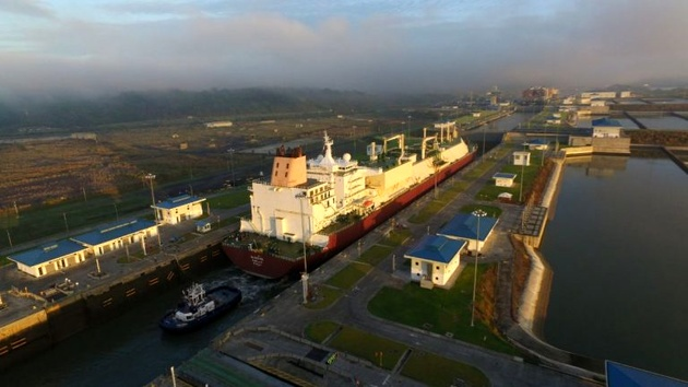 Panama Canal Welcomes Its Largest LNG Tanker to Date