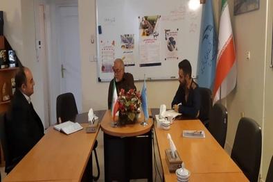 برگزاری جلسه با مدیر اجرایی کنفرانس ریلی