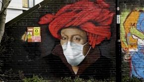 جنگ گرافیتیهای خیابانی با کووید-19