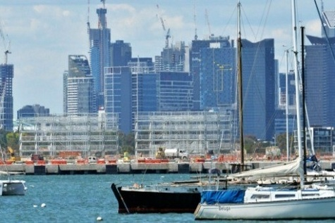 Giant container island plan for Port Phillip Bay in bid to boost port sale value