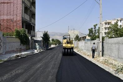 میزان آسفالت زاهدان به ۲ میلیون متر مربع خواهد رسید