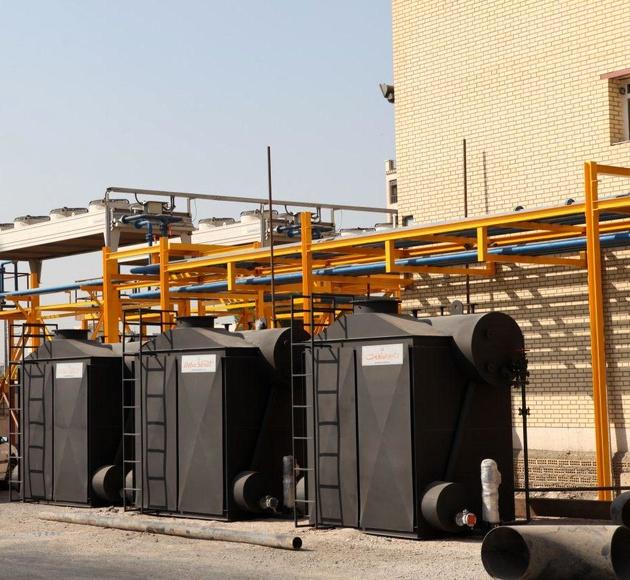 پیشرفت ۹۰ درصدی نیروگاه گازی (تولید برق و آب) اداره بندر بوشهر