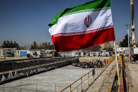 تصاویر  ورود دستگاه TBM حفاری خط ۳ مترو مشهد به پایانه امام رضا (ع)