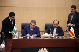 سند مشترک دوازدهمین اجلاس کمیسیون مشترک ایران و ازبکستان امضا شد