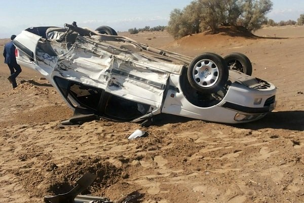 واژگونی پژو در جاده یاسوج به پاتاوه ۲ کشته برجا گذاشت