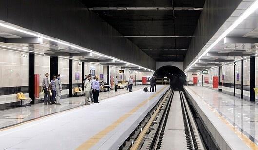 عذرخواهی شرکت بهره برداری مترو به دلیل نقص فنی در خط ۳ مترو