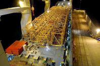 ورود تجهیزات و قطعات جدید از بندر فنیت ایرلند به بندر شهید رجایی