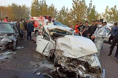 تصادفات فوتی در زنجان ۴ درصد افزایش دارد