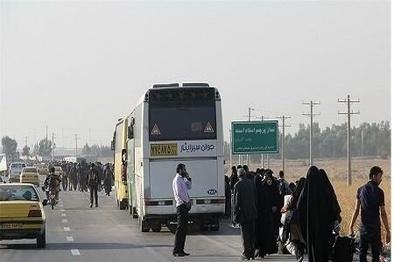 ثبت ۱۱۹۲ سفر از همدان به سمت مرز مهران