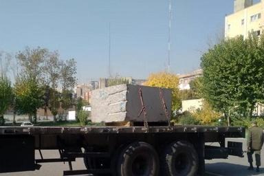 کشف سنگ تریاک یک تنی در راه پایتخت