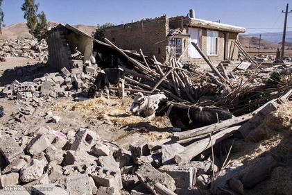 خسارت های زلزله در سرپل ذهاب - ۳