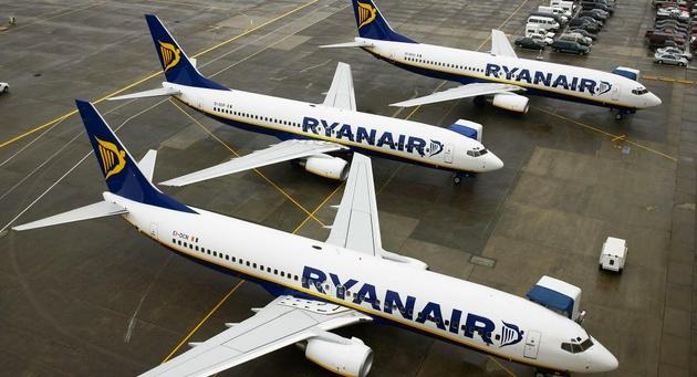 Ryanair Cancels 190 Flights Grounding 30,000 Passengers on Friday