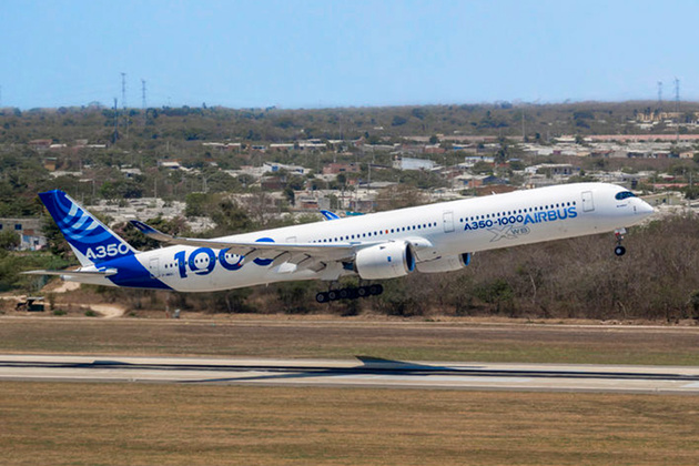 Airbus A350-1000 Completes Functional and Reliability Testing