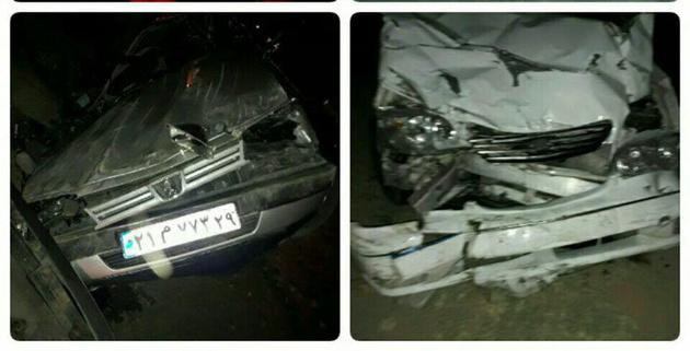 حادثه رانندگی در کرمانشاه 2 کشته و 2 مجروح برجا گذاشت