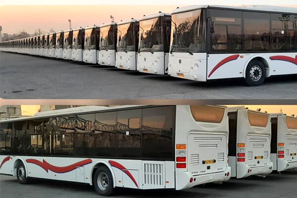 25 اتوبوس جدید برای شهر اصفهان در راه است