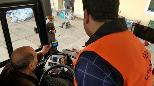 اشکالات جریمه رانندگان اتوبوس که سامانه سپهتن نمیبیند
