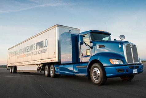 تجهیز کامیون های تویوتا به سوخت هیدروژنی + عکس