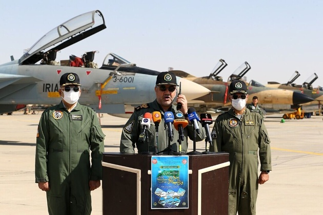 Iran Army Air Force maneuver begins in central Iran