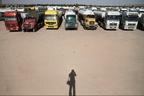 سرگردانی ۲۰ روزه ۳۸ راننده ایرانی تانکرهای بنزین در بیابانهای سلیمانیه