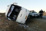 5کشته در سانحه رانندگی اتوبوس کرمان-تهران