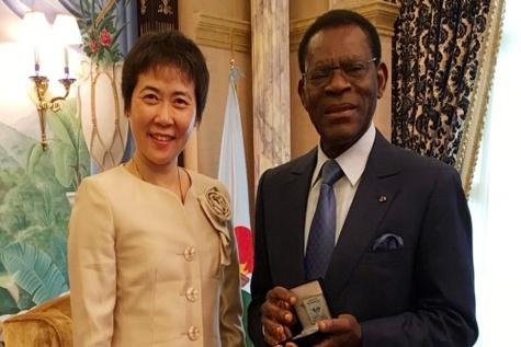 Equatorial Guinea's President receives ICAO Secretary General