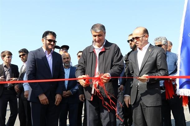 افتتاح ۲,۵ کیلومتر جاده دسترسی بندر شهید بهشتی با حضور وزیر راه
