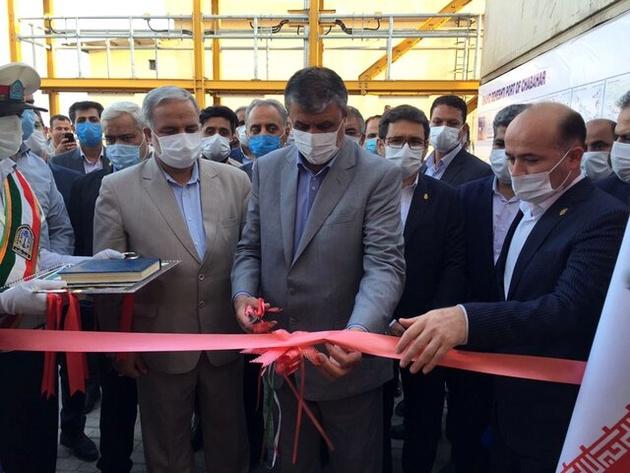 وزیر راه و شهرسازی ۲۴ پروژه را در بندر چابهار افتتاح کرد