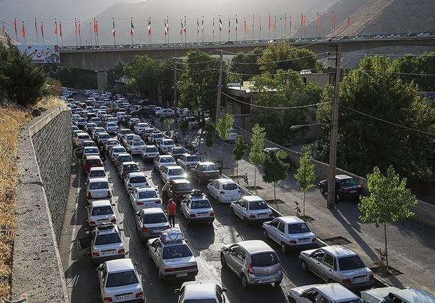 محدودیتهای ترافیکی تا 18 آبان/اعمال ممنوعیت تردد در جاده چالوس و هراز