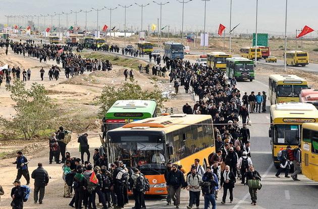 اعزام ۶۰۰ دستگاه اتوبوس از تهران به مرزهای عراق