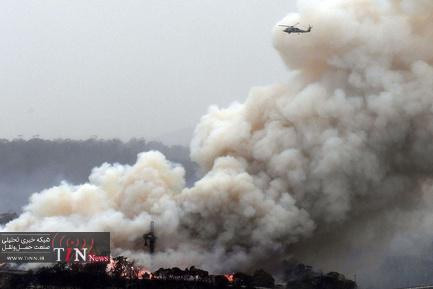 آتش سوزی در جنگل های استرالیا