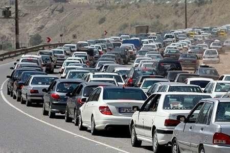 ممنوعیت تردد انواع وسایل نقلیه در محور کرج-مرزن آباد