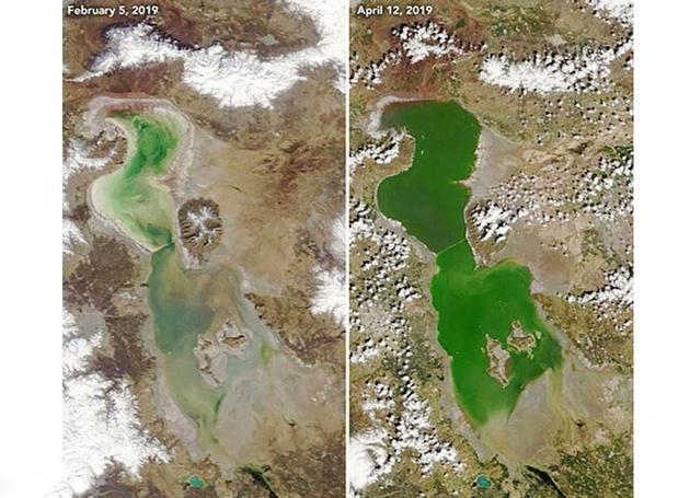 بازگشت دوباره گردشگری به دریاچه ارومیه