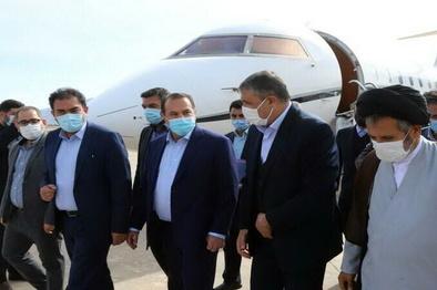 افتتاح ۷۰۰ میلیارد تومان طرح در فارس با حضور وزیر راه