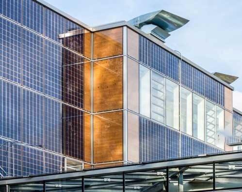 راهاندازی خط تولید پنلهای خورشیدی ساختمانی در تابستان