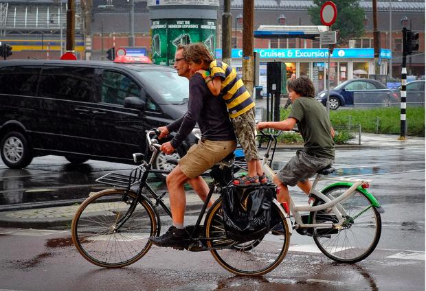هلندیها با این الگو دوچرخهسواری را در این کشور نهادینه کردند