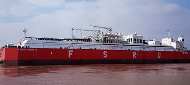 Indonesian owner welcomes largest FSRU built in China