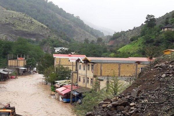 بازگشایی ۳ مسیر از ۶ مسیر سیلزده تالش تا پایان امروز