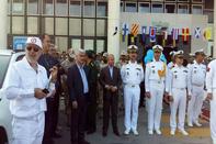 برگزاری مانور جستجو و نجات دریایی و مقابله با آلودگی در بندر نوشهر به مناسبت روز جهانی دریانوردی