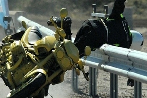 Research finds plastic - covered barriers aid motorcyclist safety