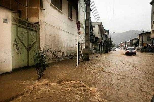 برقراری موقت ارتباط 10 مسیر برش زده در سیل اخیر استان گلستان