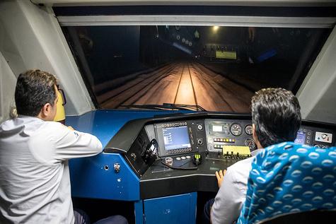 تجربه سفر با قطار گردشگری کاشان