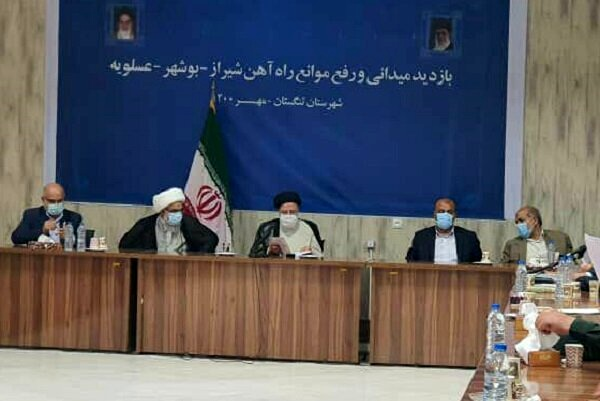 رئیس جمهور از پروژه راهآهن بوشهر- شیراز بازدید کرد