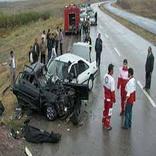 تصادف در خراسان شمالی دو کشته و زخمی داشت