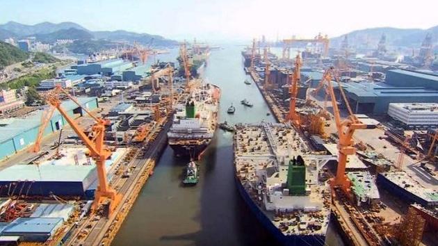 غول کشتیسازی جهان در کره
