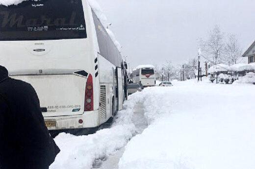 شمار جانباختگان بارش برف در گیلان به هفت نفر رسید