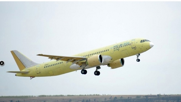 Russia's second MC-21-300 completes first flight